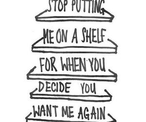 quote, sad, and shelf image