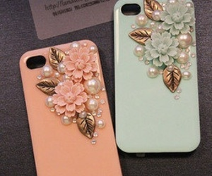 floral, iphone 5 case, and iphone 4 4s image