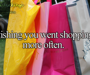 shopping, wish, and just girly things image