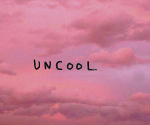 cool, pink, and uncool image