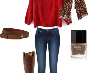 beauty, boots, and casual image