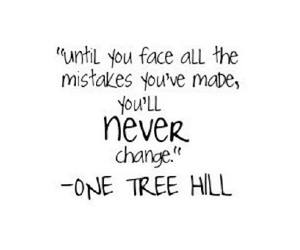 quotes, one tree hill, and change image