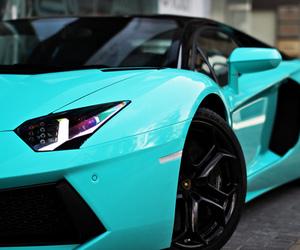 car, blue, and Lamborghini image