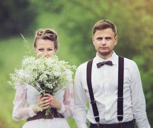 couple, happy, and joy image