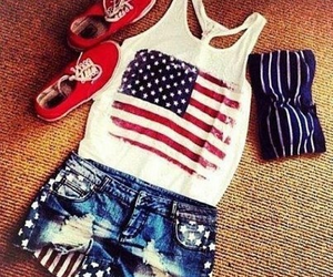 fashion, outfit, and usa image