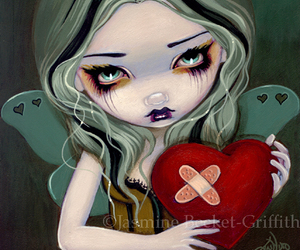 mending a broken heart and jasmine becket-griffith. image