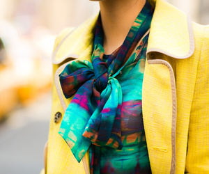 blouse, new york, and style image