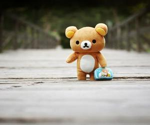 cute, bear, and rilakkuma image