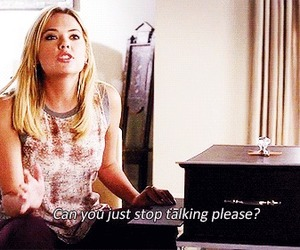 pretty little liars, quote, and ashley benson image