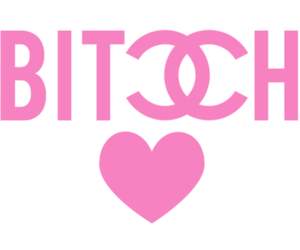 bitch, chanel, and pink image