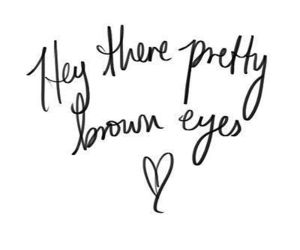 pretty, eyes, and quotes image