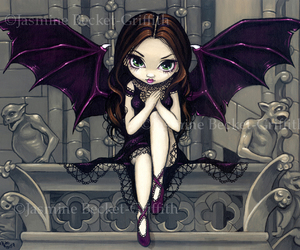fan art, vampire, and gargoyles image