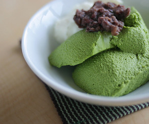 dessert, japanese food, and red bean paste image