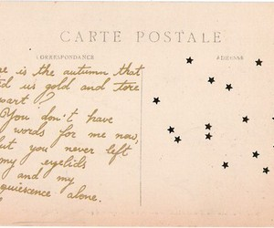 carte postale, french, and Post card image