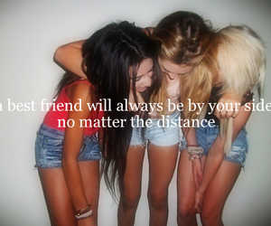 girl, friends, and always image