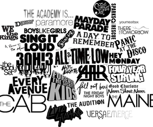 bands, panic! at the disco, and the cab image
