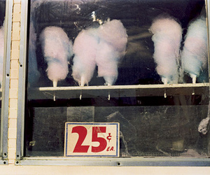 vintage, cotton candy, and food image