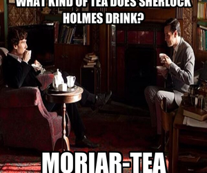 tea and moriarty image