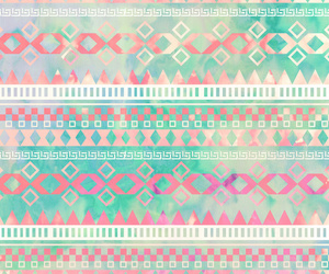 background, aztec, and pink image
