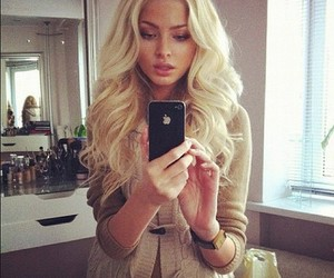 blonde, curly, and alena shishkova image