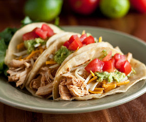 food, Chicken, and tacos image