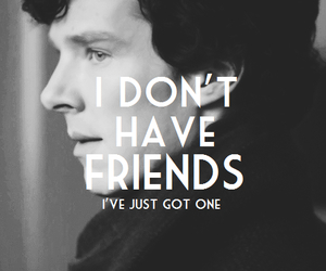 bbc, holmes, and friends image