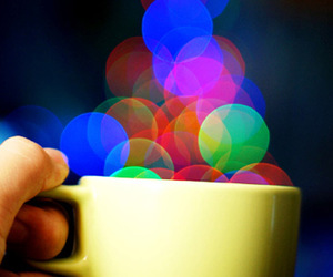 cup, light, and photography image