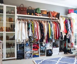bags, jackets, and wardrobe image