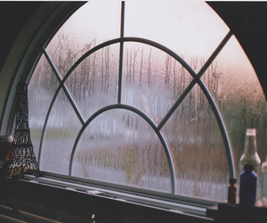 rain, window, and indie image