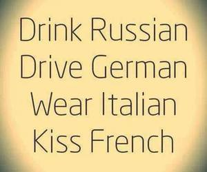 kiss, drink, and drive image