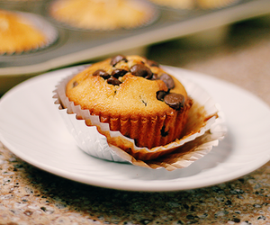 muffin, chocolate, and yummy image