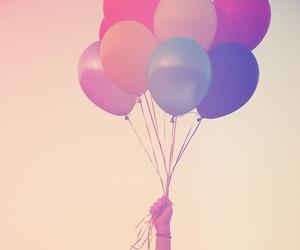 pink purple blue :) image