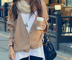 fashion, style, and coffee image