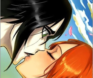 bleach, ulquihime, and love image