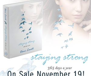 staying strong, book, and demi lovato image