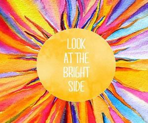 quotes, sun, and bright side image