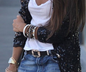 belt, fashion, and girl image