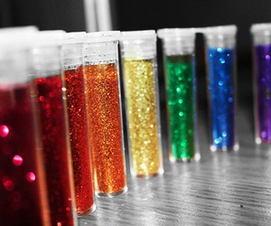 glitter, colors, and colorful image