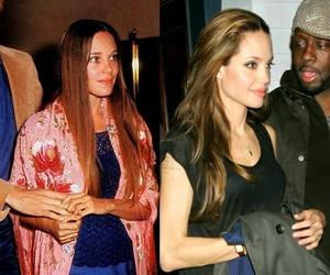 Angelina Jolie, brunette, and daughter image