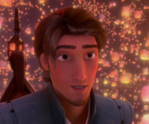 disney, tangled, and flynn rider image