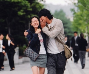 kmovie, couple, and son ye jin image