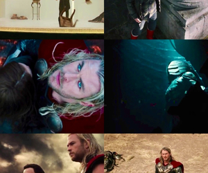 thor, avenger, and jane foster image
