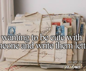 just girly things and letters image