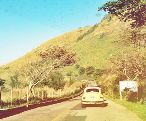 beach, fusca, and travel image
