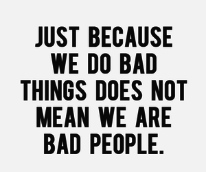 quotes, bad, and people image