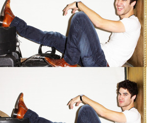 darren criss and sexy face image