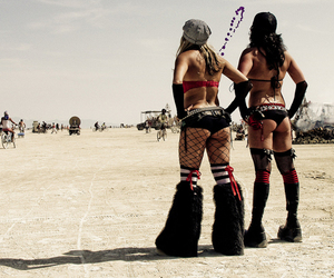 Burning Man and butts image