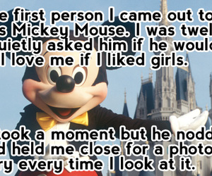 mickey mouse and lesbian image