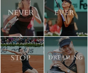 beautiful, Maria Sharapova, and Dream image