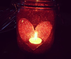 autumn, beauty, and candle image